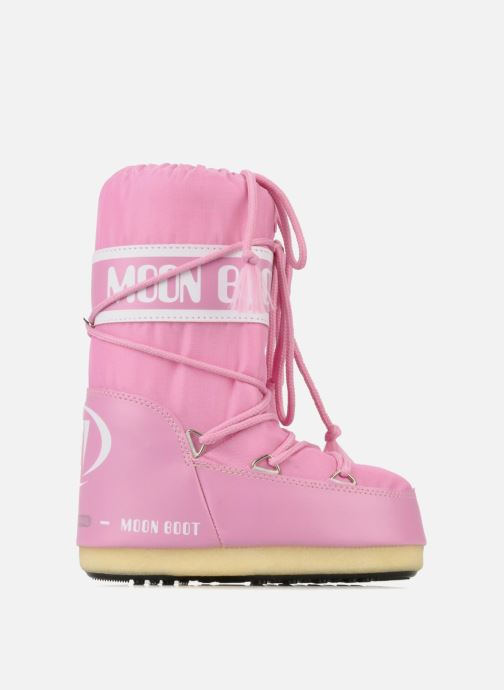 Sportschuhe Moon Boot Moon Boot Nylon E rosa ansicht von hinten