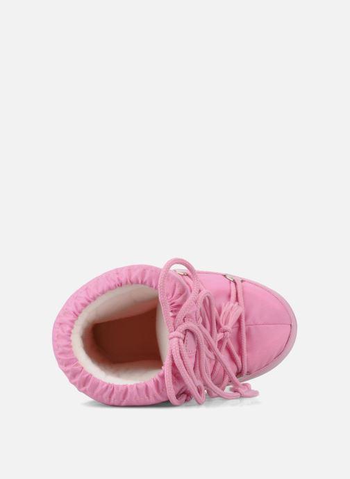 Chaussures de sport Moon Boot Moon Boot Nylon Rose vue gauche