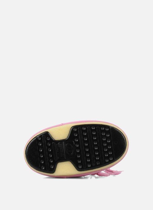 Chaussures de sport Moon Boot Moon Boot Nylon Rose vue haut