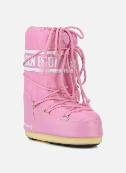 Sportssko Moon Boot Moon Boot Nylon E Pink detaljeret billede af skoene