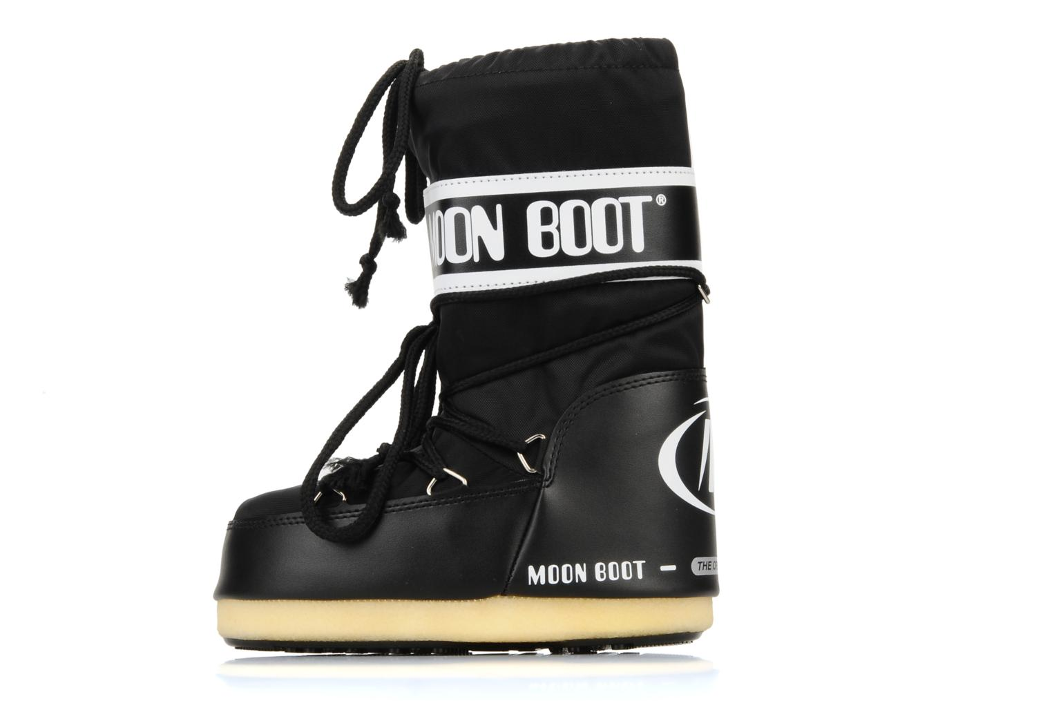 Sport shoes Moon Boot Moon Boot Nylon E Black front view