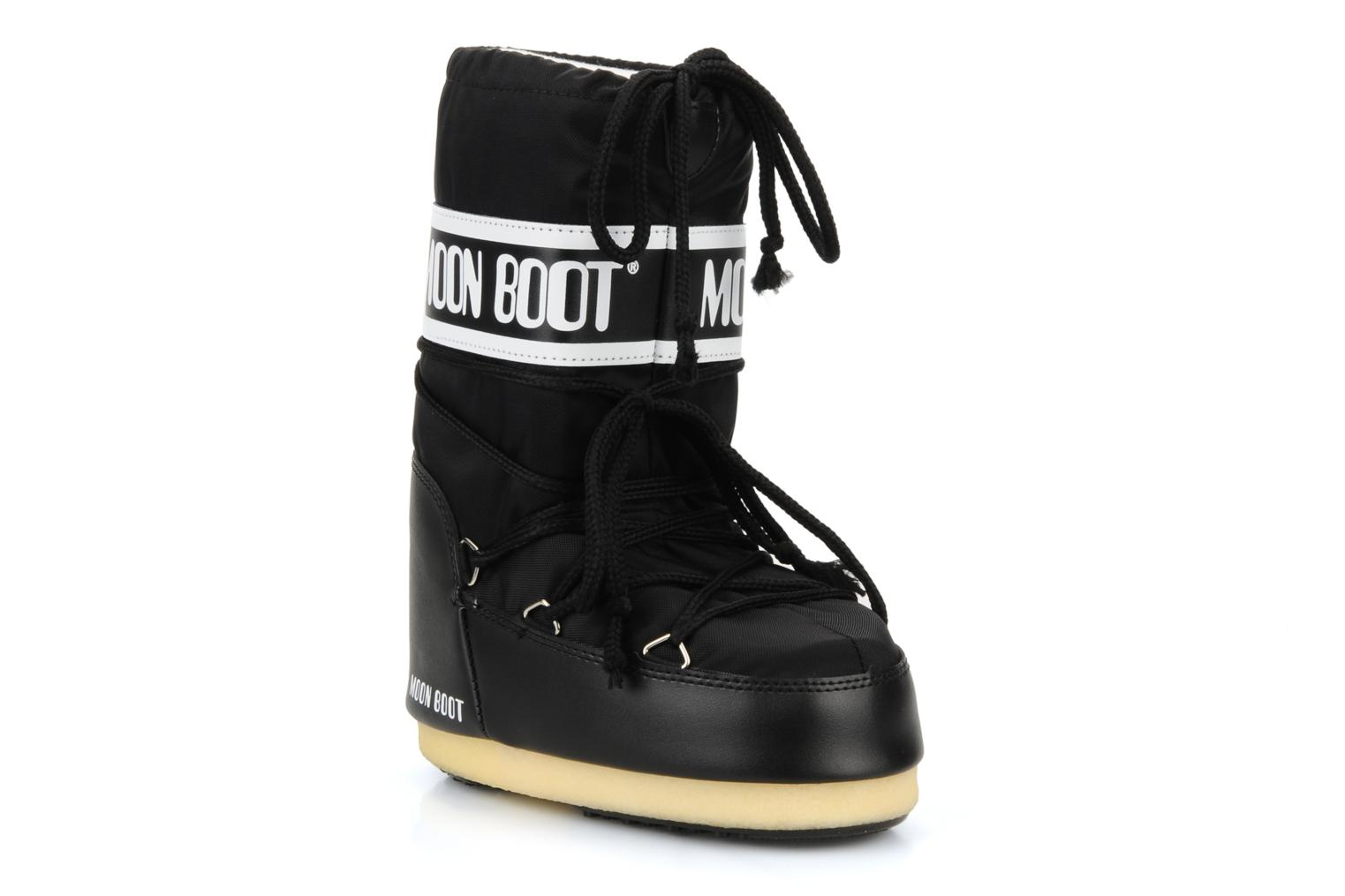 Sport shoes Moon Boot Moon Boot Nylon E Black detailed view/ Pair view