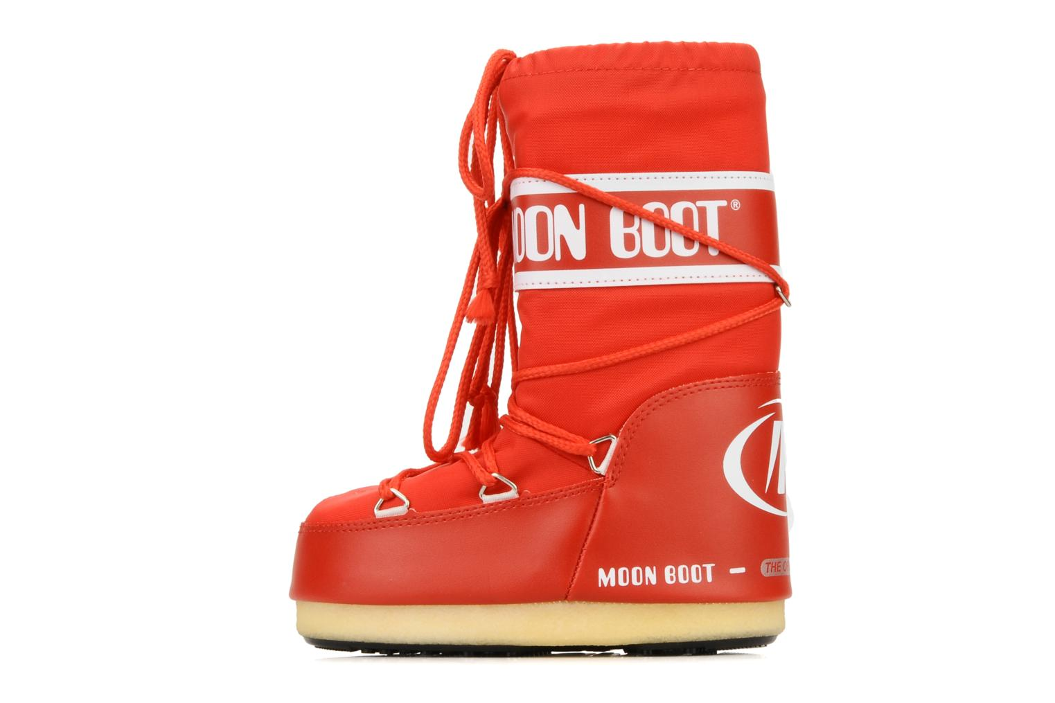 Sport shoes Moon Boot Moon Boot Nylon E Red front view