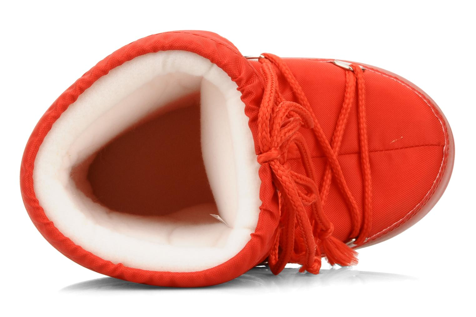 Sport shoes Moon Boot Moon Boot Nylon E Red view from the left
