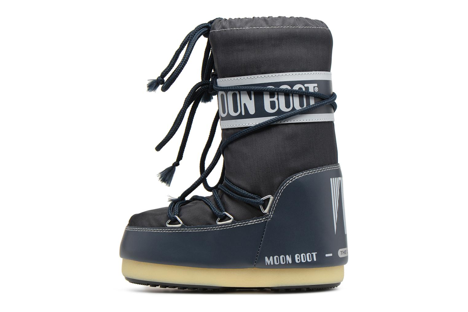 Sport shoes Moon Boot Moon Boot Nylon E Blue front view