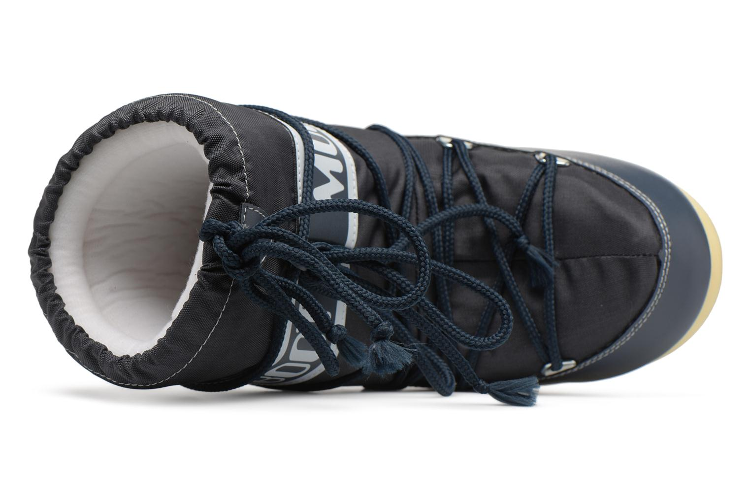 Sport shoes Moon Boot Moon Boot Nylon E Blue view from the left