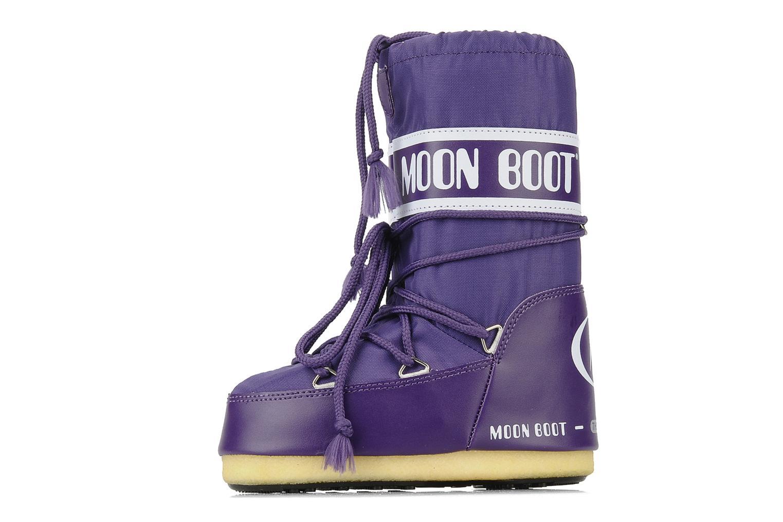Sportschuhe Moon Boot Moon Boot Nylon E lila ansicht von vorne