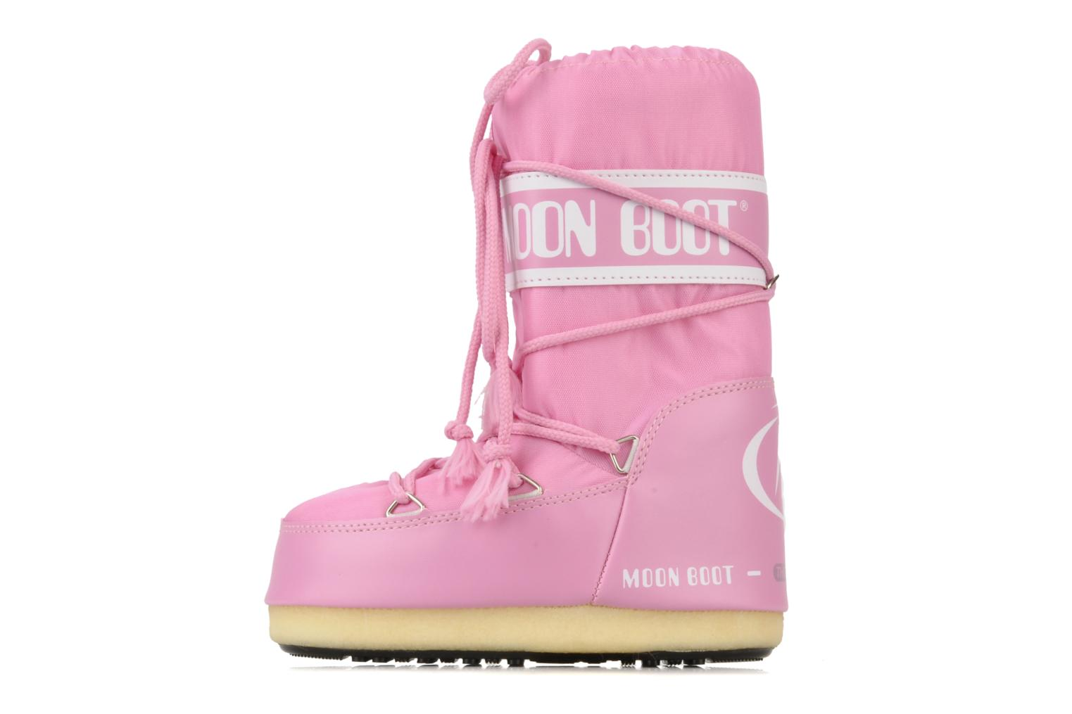 Chaussures de sport Moon Boot Moon Boot Nylon Rose vue face