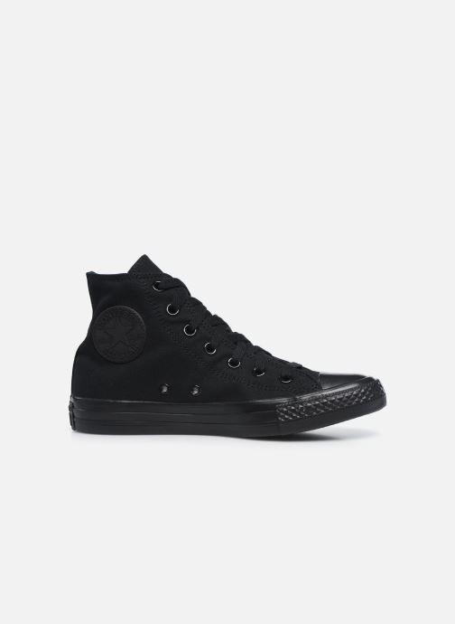 Sneaker Converse Chuck Taylor All Star Monochrome Canvas Hi W schwarz ansicht von hinten