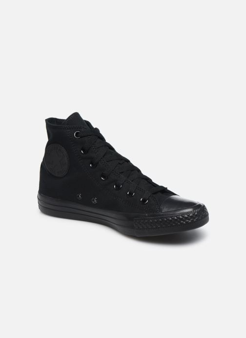 Trainers Converse Chuck Taylor All Star Monochrome Canvas Hi W Black detailed view/ Pair view