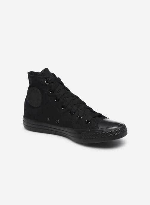 Sneaker Converse Chuck Taylor All Star Monochrome Canvas Hi W schwarz detaillierte ansicht/modell