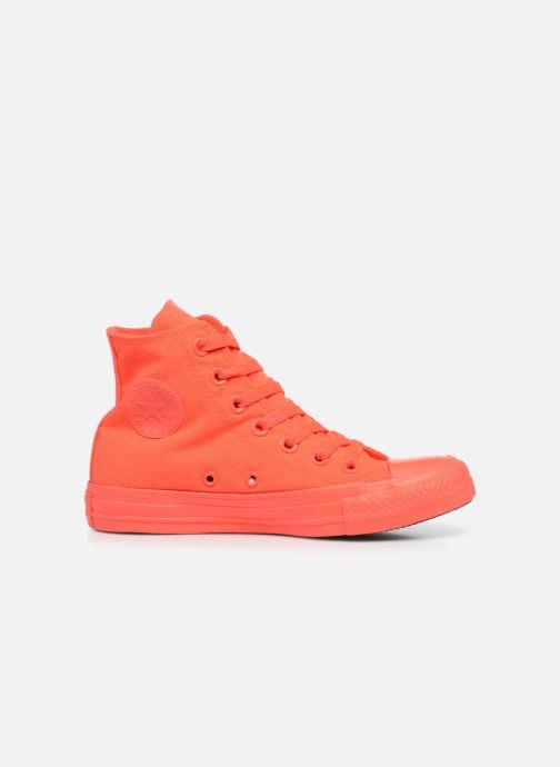 Sneaker Converse Chuck Taylor All Star Monochrome Canvas Hi W rot ansicht von hinten