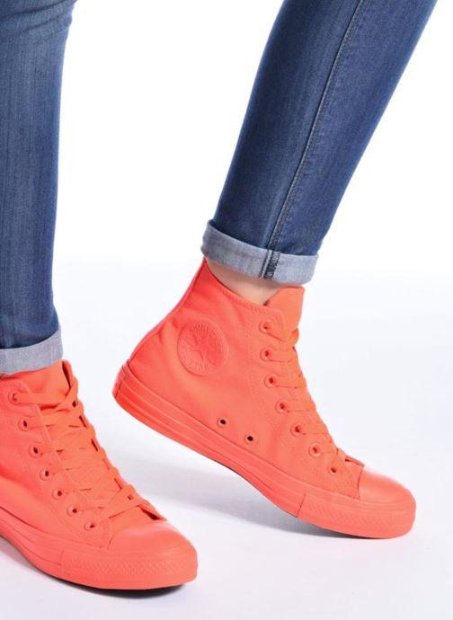 Sneakers Converse Chuck Taylor All Star Monochrome Canvas Hi W Hvid se forneden