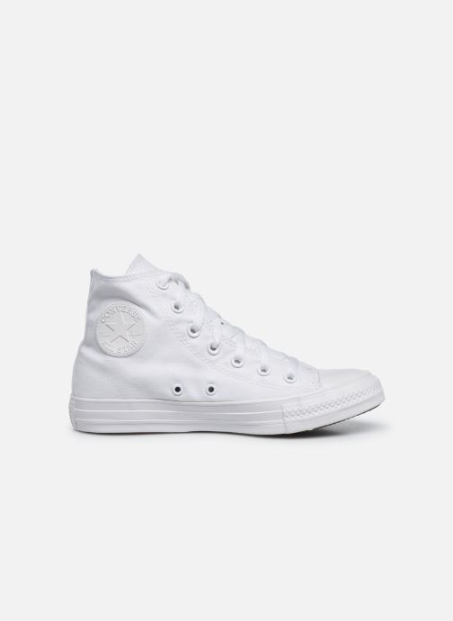 Trainers Converse Chuck Taylor All Star Monochrome Canvas Hi W White back view
