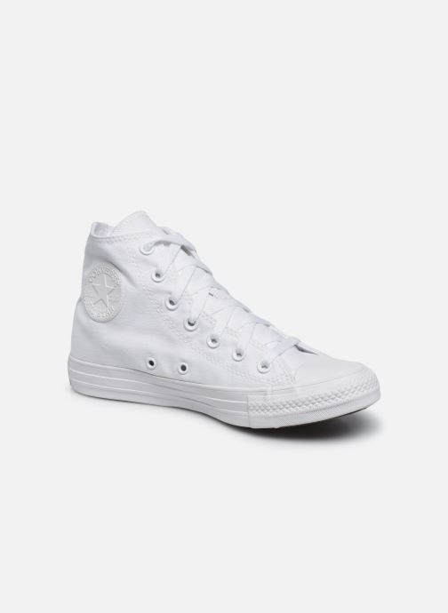 Sneakers Converse Chuck Taylor All Star Monochrome Canvas Hi W Hvid detaljeret billede af skoene