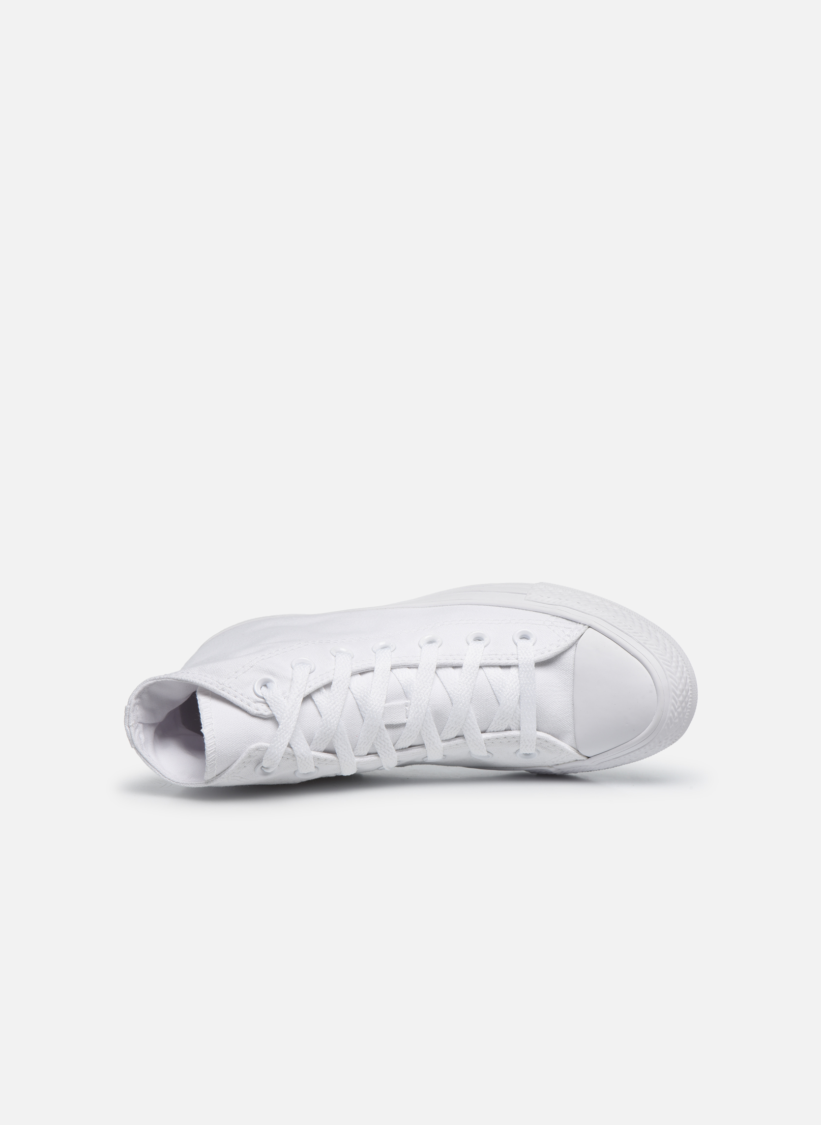 Sneakers Converse Chuck Taylor All Star Monochrome Canvas Hi W Bianco immagine sinistra