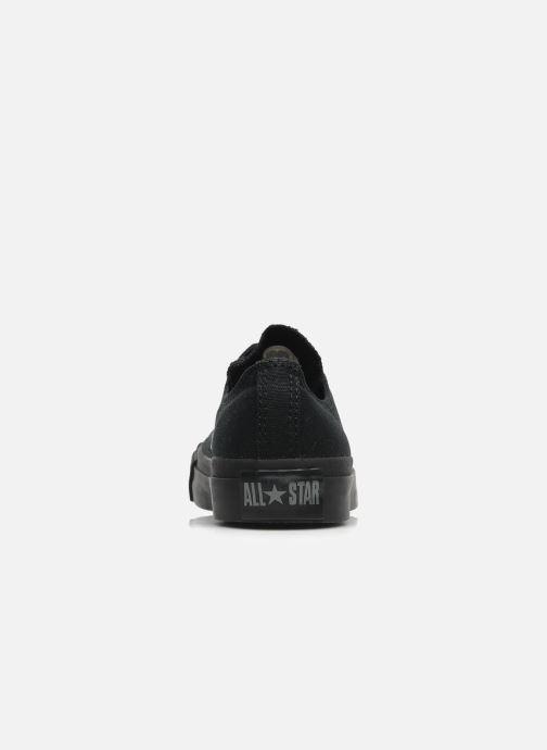 Sneakers Converse Chuck Taylor All Star Monochrome Canvas Ox W Nero immagine destra