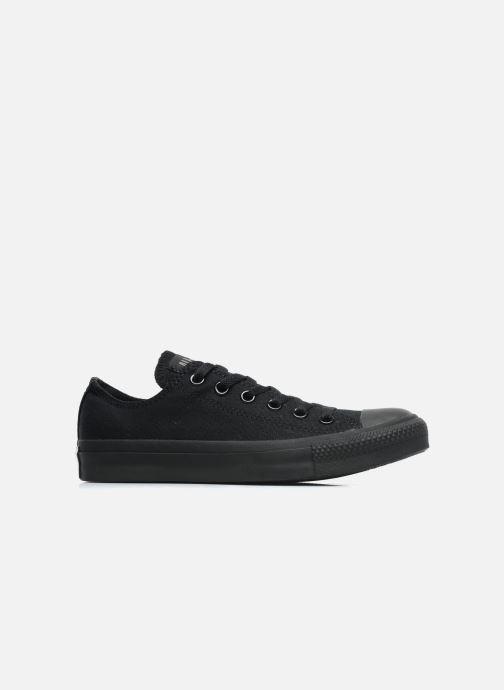 Sneaker Converse Chuck Taylor All Star Monochrome Canvas Ox W schwarz ansicht von hinten