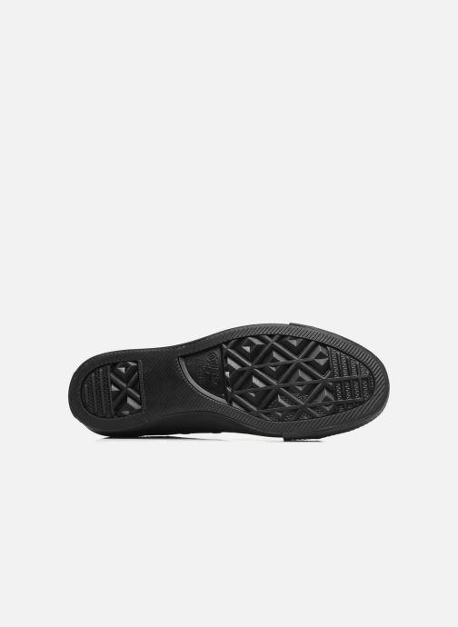Sneaker Converse Chuck Taylor All Star Monochrome Canvas Ox W schwarz ansicht von oben