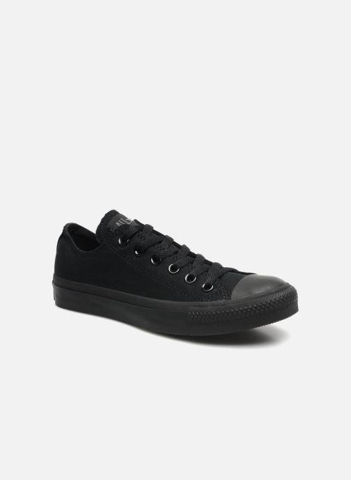 Sneaker Converse Chuck Taylor All Star Monochrome Canvas Ox W schwarz detaillierte ansicht/modell