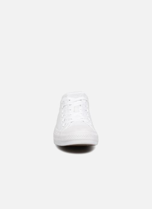 Sneaker Converse Chuck Taylor All Star Monochrome Canvas Ox W weiß schuhe getragen