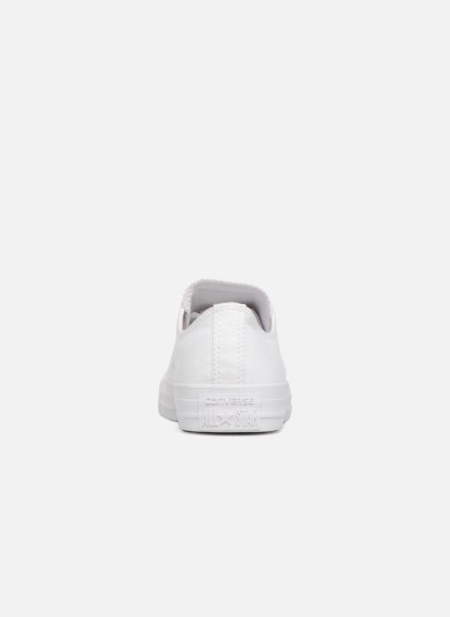 Sneakers Converse Chuck Taylor All Star Monochrome Canvas Ox W Wit rechts