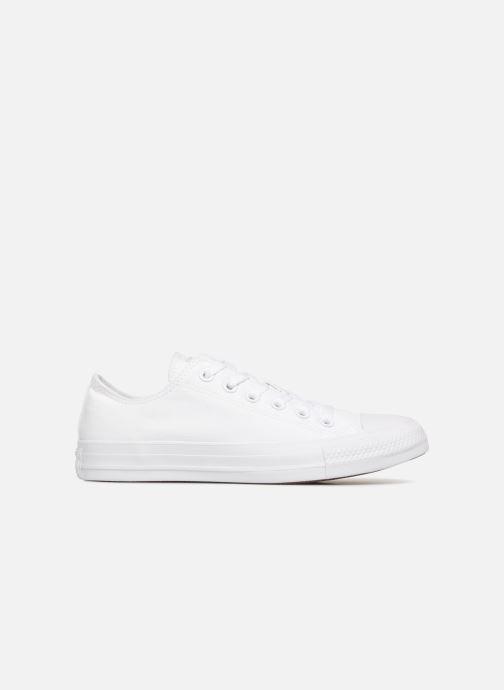 Sneaker Converse Chuck Taylor All Star Monochrome Canvas Ox W weiß ansicht von hinten