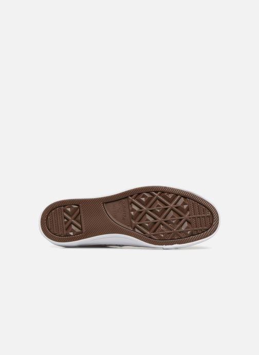 Sneaker Converse Chuck Taylor All Star Monochrome Canvas Ox W weiß ansicht von oben