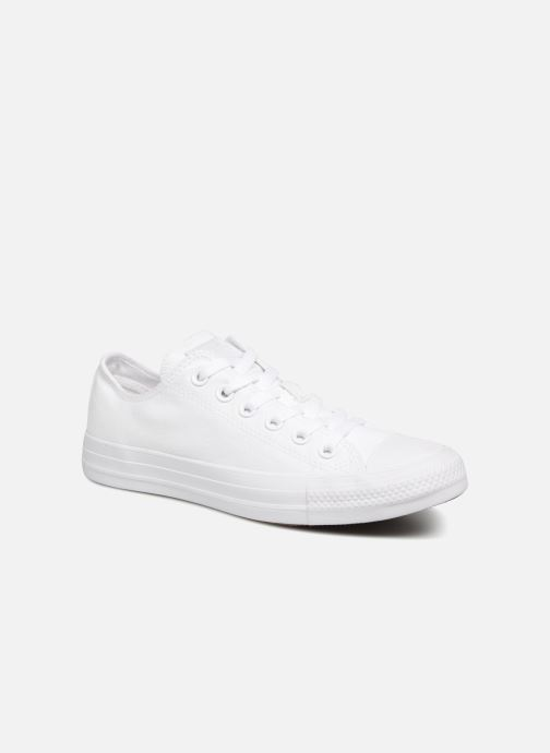 Trainers Converse Chuck Taylor All Star Monochrome Canvas Ox W White detailed view/ Pair view