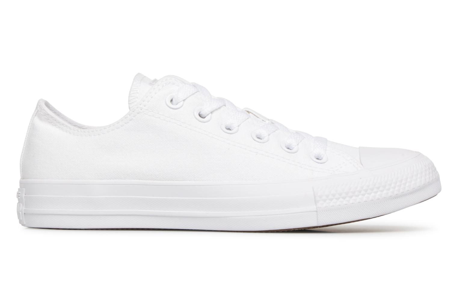 Deportivas Converse Chuck Taylor All Star Monochrome Canvas Ox W Blanco vistra trasera