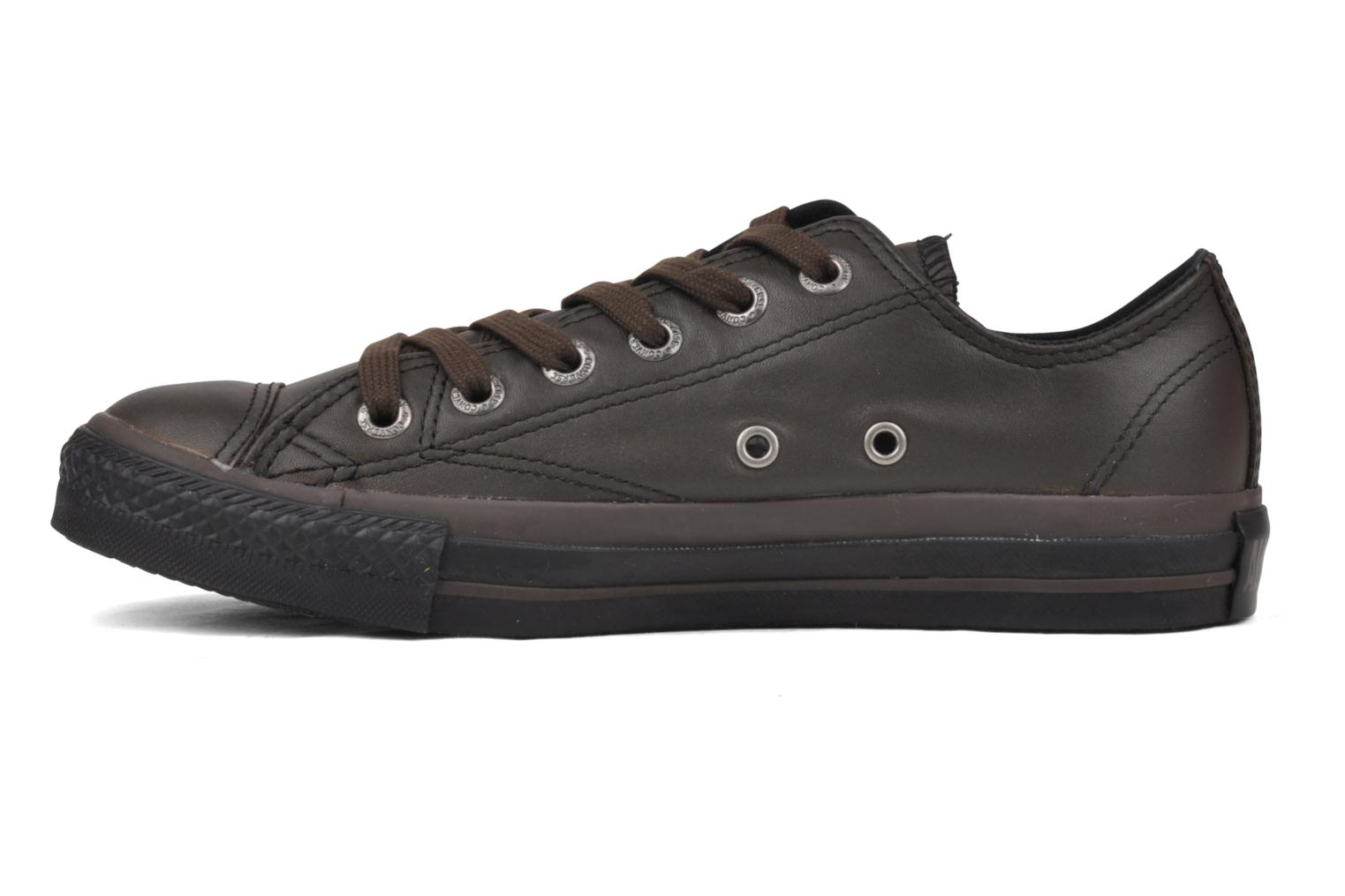 Sneakers Converse Chuck Taylor All Star Soft Leather Ox W Zwart voorkant