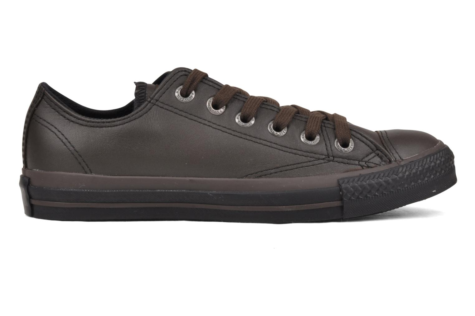 Sneakers Converse Chuck Taylor All Star Soft Leather Ox W Zwart achterkant