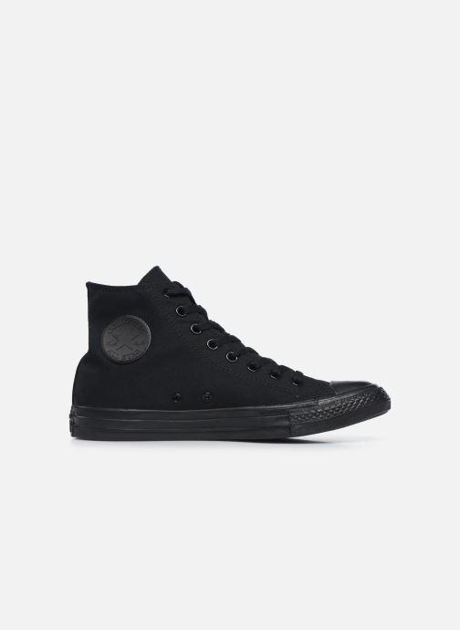 Sneaker Converse Chuck Taylor All Star Monochrome Canvas Hi M schwarz ansicht von hinten