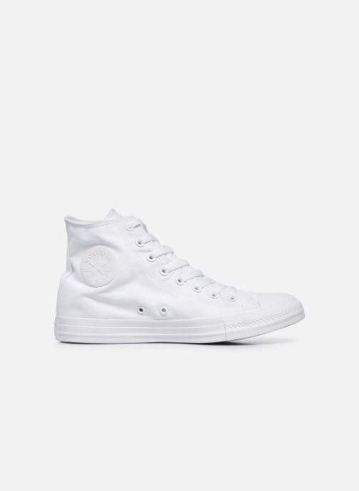 Trainers Converse Chuck Taylor All Star Monochrome Canvas Hi M White back view