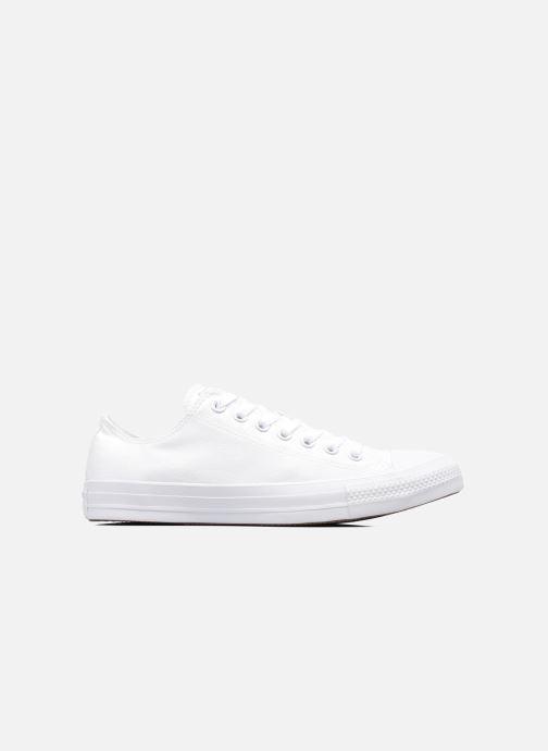 Sneakers Converse Chuck Taylor All Star Monochrome Canvas Ox M Bianco immagine posteriore