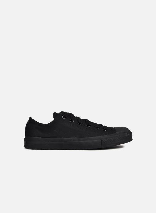 Sneaker Converse Chuck Taylor All Star Monochrome Canvas Ox M schwarz ansicht von hinten