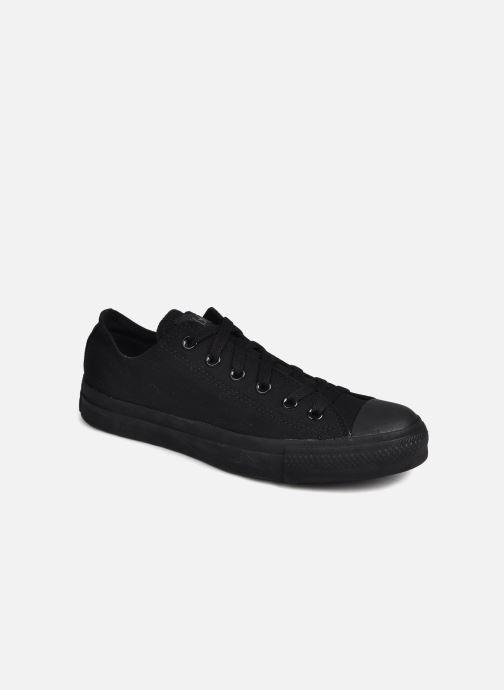 Sneaker Converse Chuck Taylor All Star Monochrome Canvas Ox M schwarz detaillierte ansicht/modell