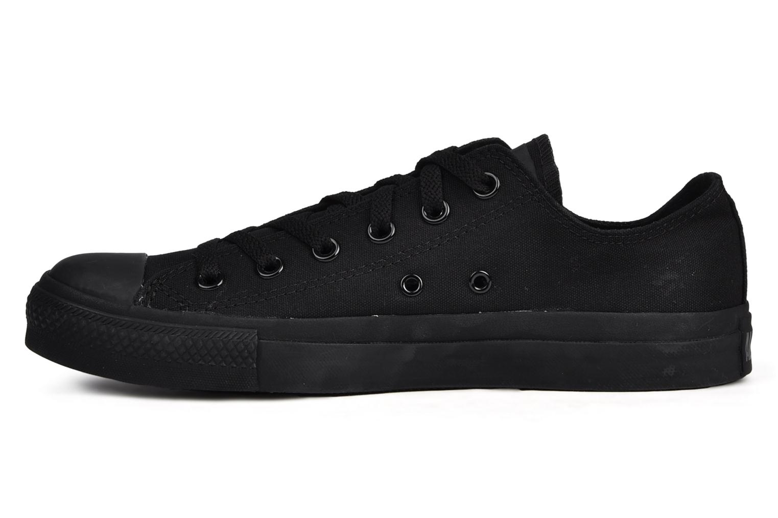 Sneakers Converse Chuck Taylor All Star Monochrome Canvas Ox M Sort se forfra