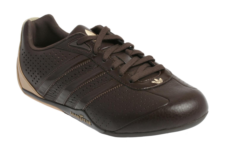 Sneakers Adidas Originals Goodyear Os Lea Marrone vedi dettaglio/paio