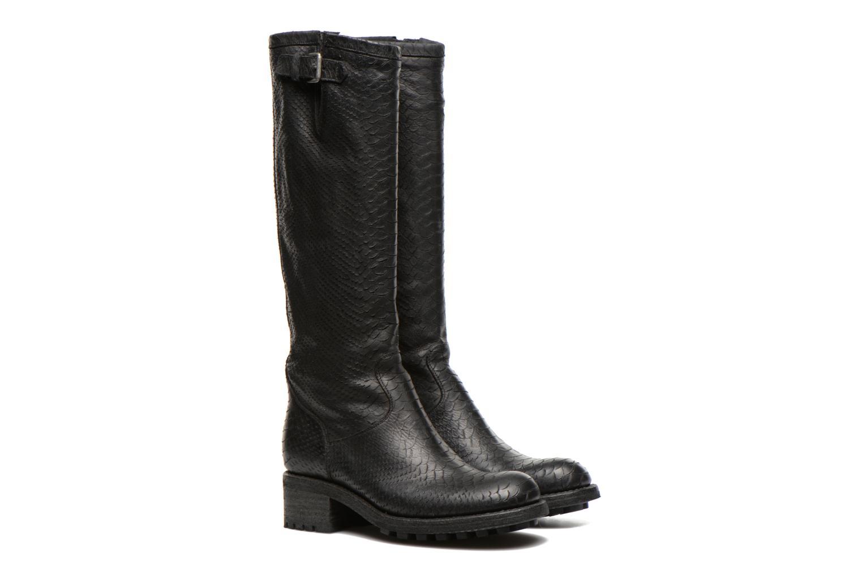 Boots & wellies Free Lance Biker 4 Geronimo Black 3/4 view