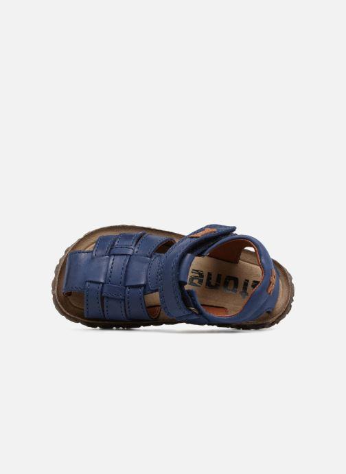 Sandalen Stones and Bones Raxi blau ansicht von links