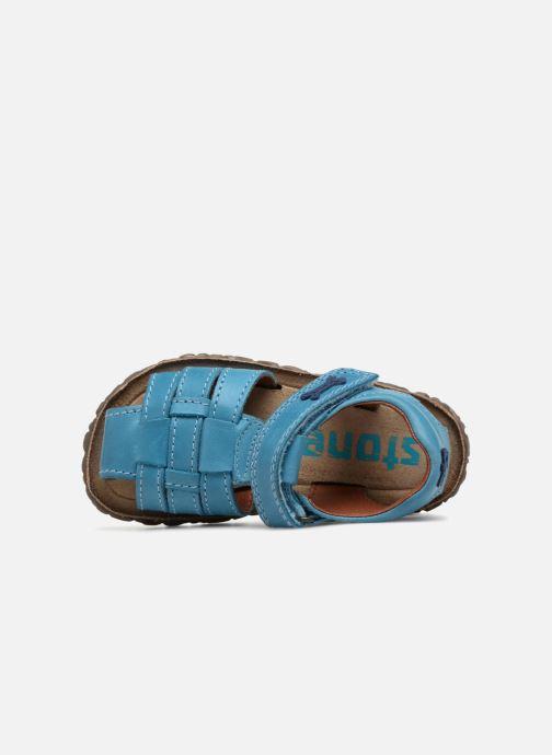 Sandales et nu-pieds Stones and Bones Raxi Bleu vue gauche