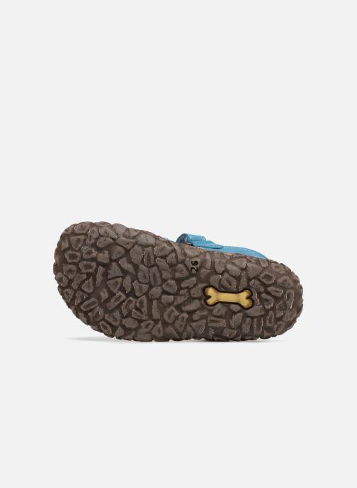Sandales et nu-pieds Stones and Bones Raxi Bleu vue haut