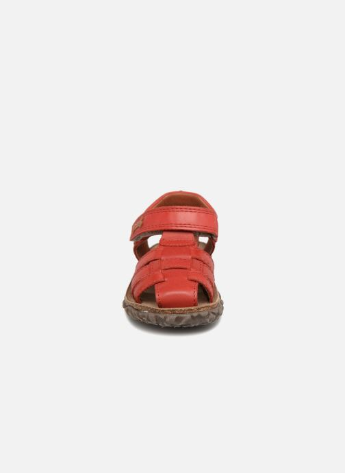 Sandales et nu-pieds Stones and Bones Raxi Rouge vue portées chaussures