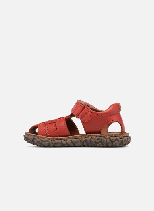 Sandales et nu-pieds Stones and Bones Raxi Rouge vue face