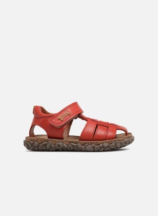 Sandales et nu-pieds Stones and Bones Raxi Rouge vue derrière