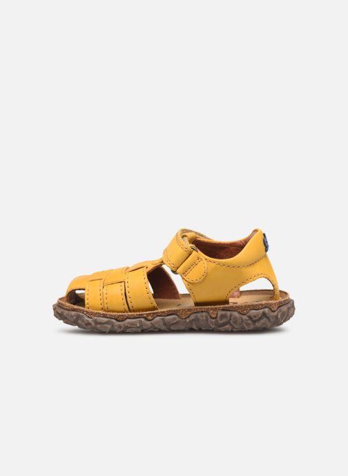 Sandales et nu-pieds Stones and Bones Raxi Jaune vue face