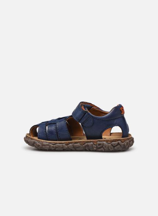 Sandales et nu-pieds Stones and Bones Raxi Bleu vue face