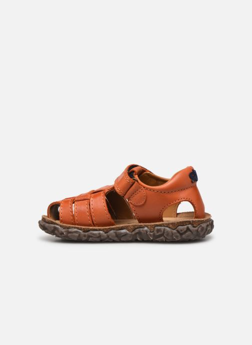 Sandales et nu-pieds Stones and Bones Raxi Orange vue face