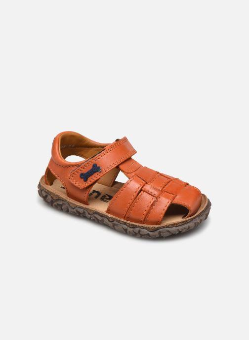 Sandales et nu-pieds Stones and Bones Raxi Orange vue détail/paire
